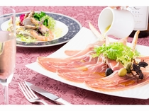 レストラン「ラコンテ」     アラカルト一例