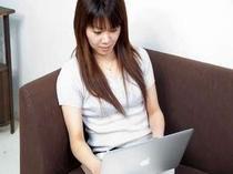 ■客室:お部屋でのインターネットもサクサク(有線LAN)