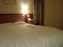 ■客室:ダブルルーム18平米。全室デュベスタイル!快適・清潔をお約束♪