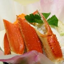 チョイスプランの「カニ鍋」ズワイ蟹使用。