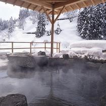 【空の湯~ぱぱらく~】谷川連邦を望む最上階の展望浴場