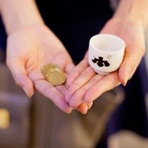 ぽんしゅ館 好きなお酒を選んでコインを入れて!
