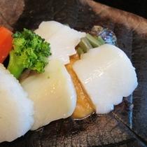 イカの朴葉焼きはチョイスプランで!