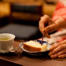 ゆったり喫茶を楽しみました。