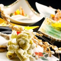 【料理】季節の会席一例 集合寄り