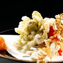 【料理】季節の会席一例 揚物