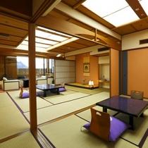 【客室】露天風呂付特別室「桔梗」