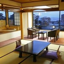 【客室】露天風呂付特別室「撫子」