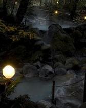 緑渓湯苑:夜