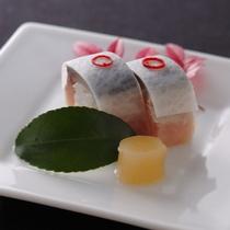 寒鯖の小袖寿司