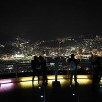 展望台からの夜景1
