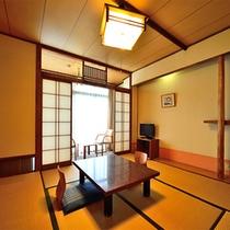 本館和室8畳【海側客室】※手狭になります。