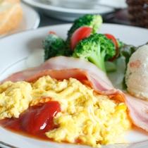 朝食:洋食 一例