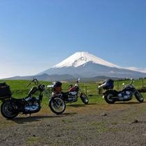 【周辺観光】富士山 イメージバイク