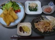 ある日の夕食6