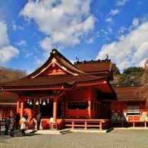 【周辺観光】車で30分ほど浅間神社