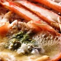 【夕食】 活蟹