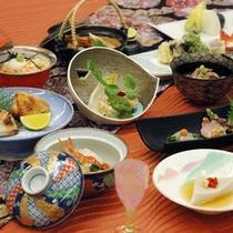 *秋の宴(2011お食事例)