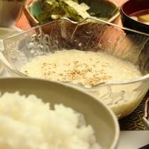 ☆料理_朝食_ご飯ととろろ