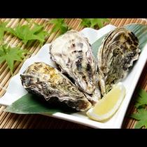 宮島の冬味覚牡蠣