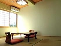 【客室】全室和室です。寛ぎの時間をお過ごしください。/例