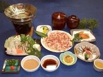 食事(薩摩定食)