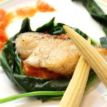 洋食 魚のソテー