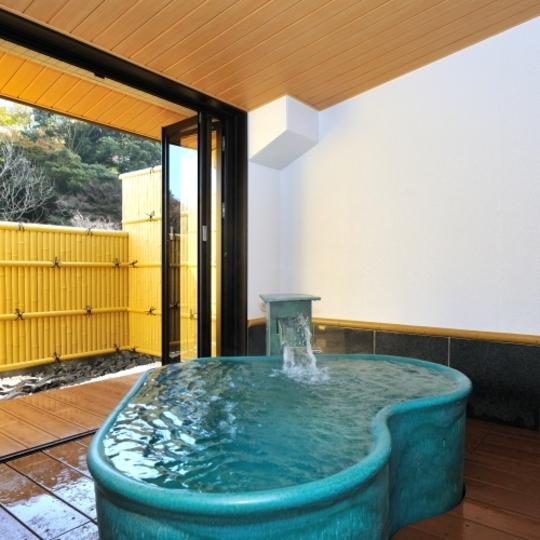家族風呂(ハート型) 写真提供:楽天トラベル