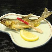 (夕食)川魚