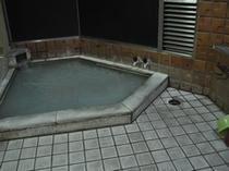 内風呂☆にごり湯