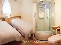 シャワートイレ付きツインルーム