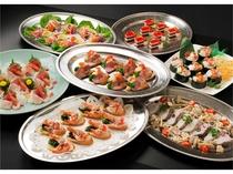 宴会プラン 和様卓上盛り(料理一例)