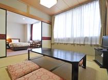【客室:和洋室(和室6畳)】ゆっくりと足を伸ばして寛げる和室