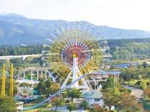 【遊園地】最高置50m。妙高連山を一望できる眺めのよい観覧車