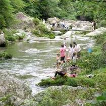 ■渓流釣り■