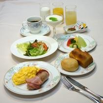 朝食一例(洋食)