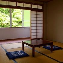 ●客室(和室8畳・一例)