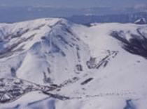冬の車山全景