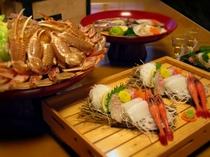 松葉がに料理イメージ