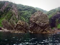 山陰海岸ジオパーク インディアン島