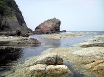 山陰海岸ジオパーク かえる島