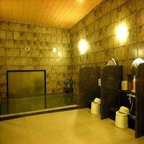 女性大浴場は鍵付きで安心です。
