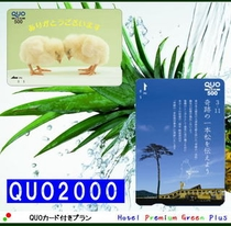 QUOカード2000円分付き