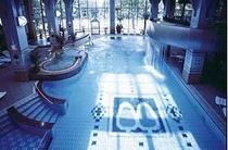ブランヴェール那須のクアハウス(屋内プールと12種類のお風呂施設)