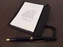メモ帳、メモパッド、ボールペン