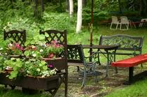 夏のクリスチャニアの庭