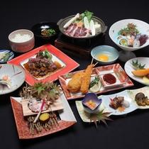 豪華なご夕食●当館自慢の里山会席に、季節のお料理を数品追加しました!