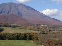 晩秋の岩手山
