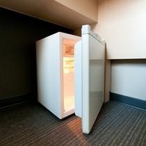静音型冷蔵庫【スーパーホテル四日市駅前】