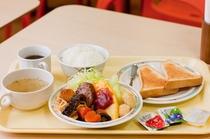ある日の朝食例